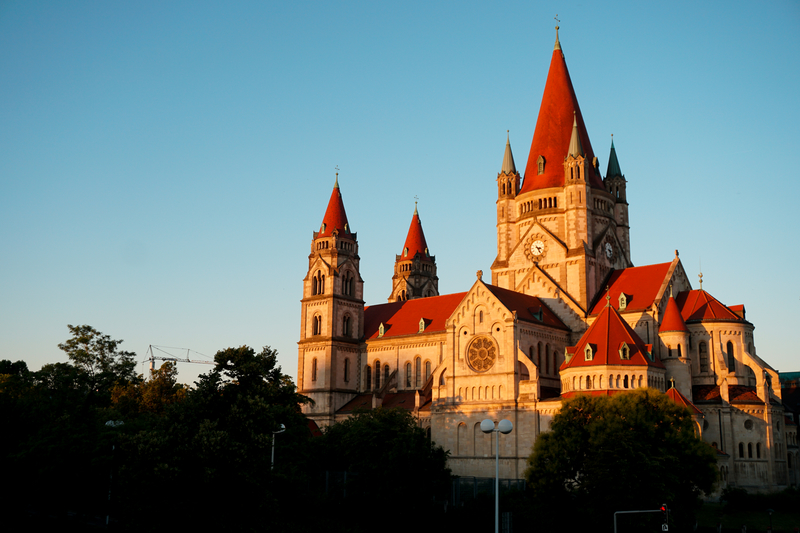 Similio 1020 Wien Franz-von-Assisi-Kirche Mexikoplatz
