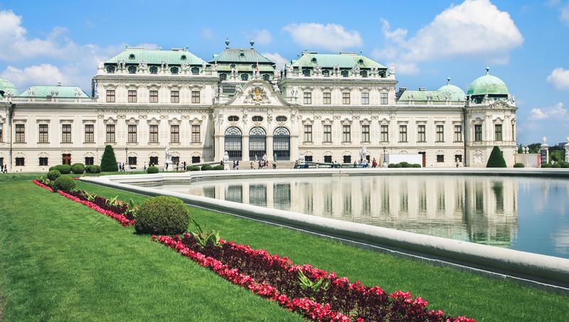 Similio 1030 Wien Belvedere Vienna third district Prinz Prince Eugen Austria Staatsvertrag History Osterreich