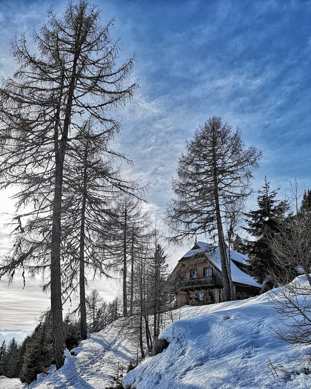 Hütte auf der Gerlitzen
