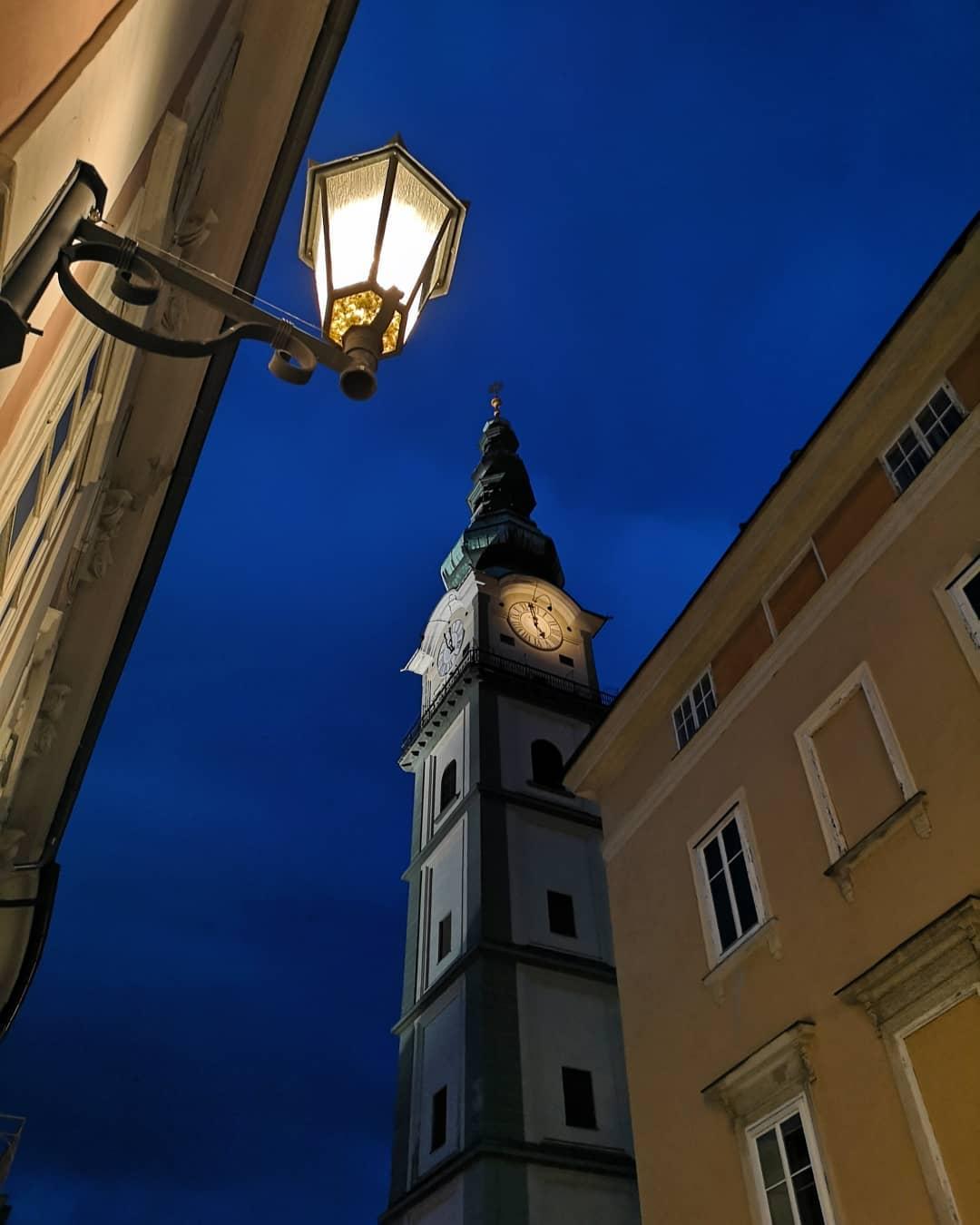 Parish square in Klagenfurt