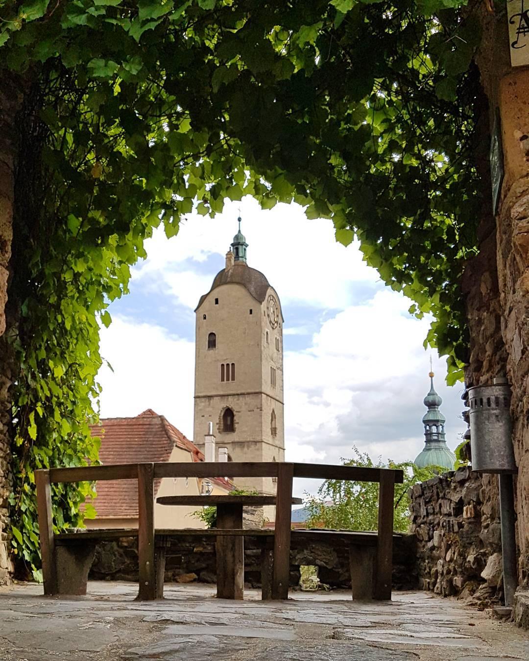 Красивый вид из старого города