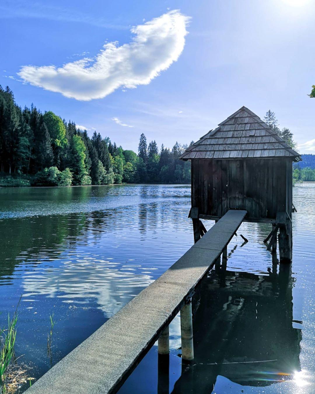 Wonderful weather at the Moosburg ponds