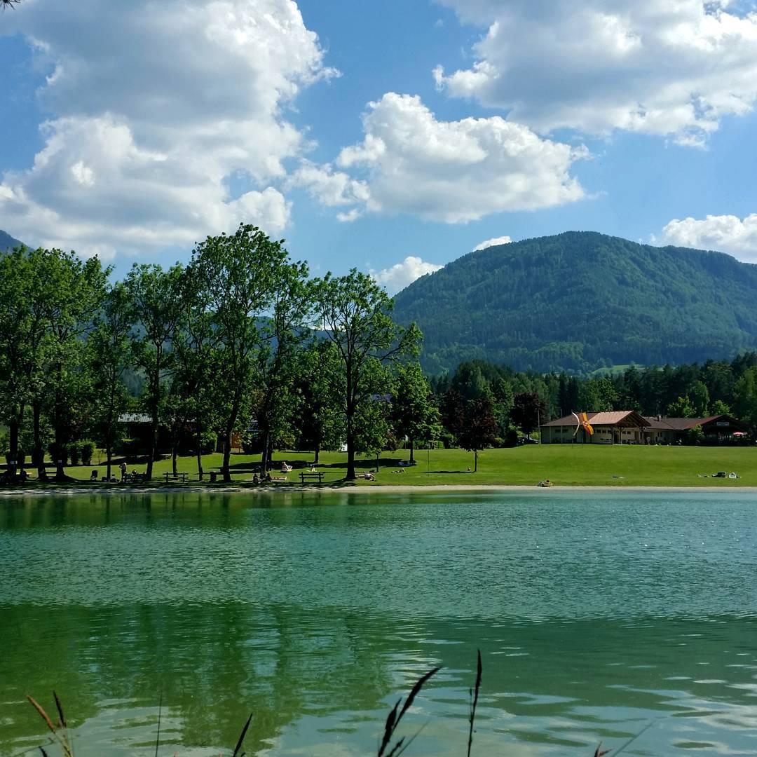 Sonnegger See in Sonnegg im Jauntal