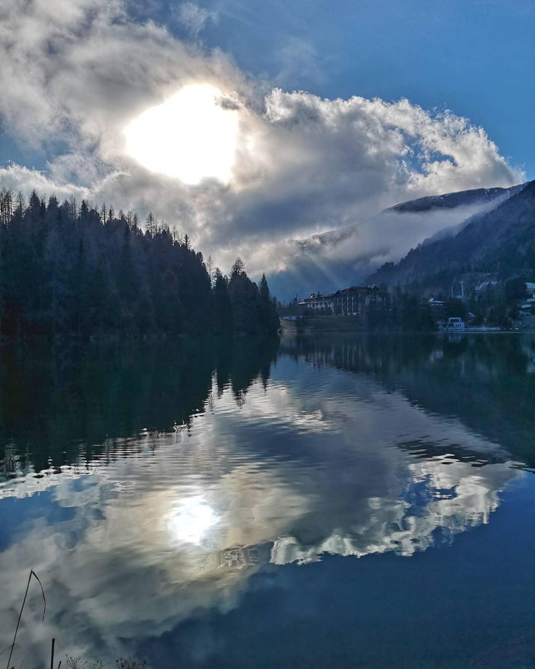 Wolkenspiel am Turracher See