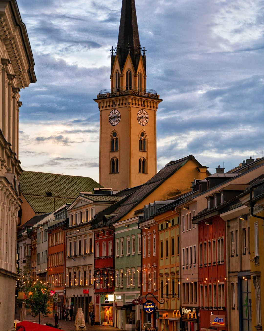 Old town of Villach