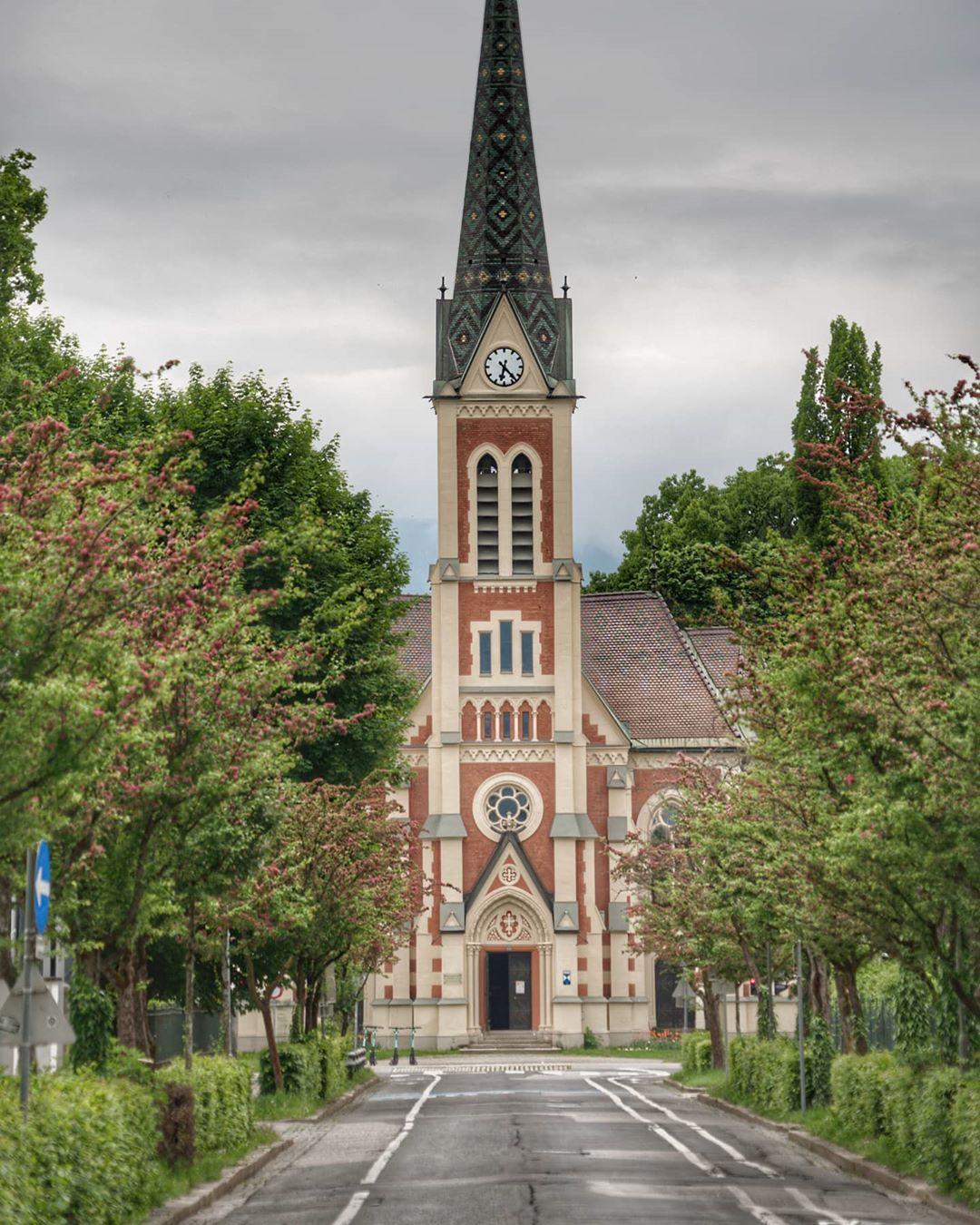 Evangelical church in Villach