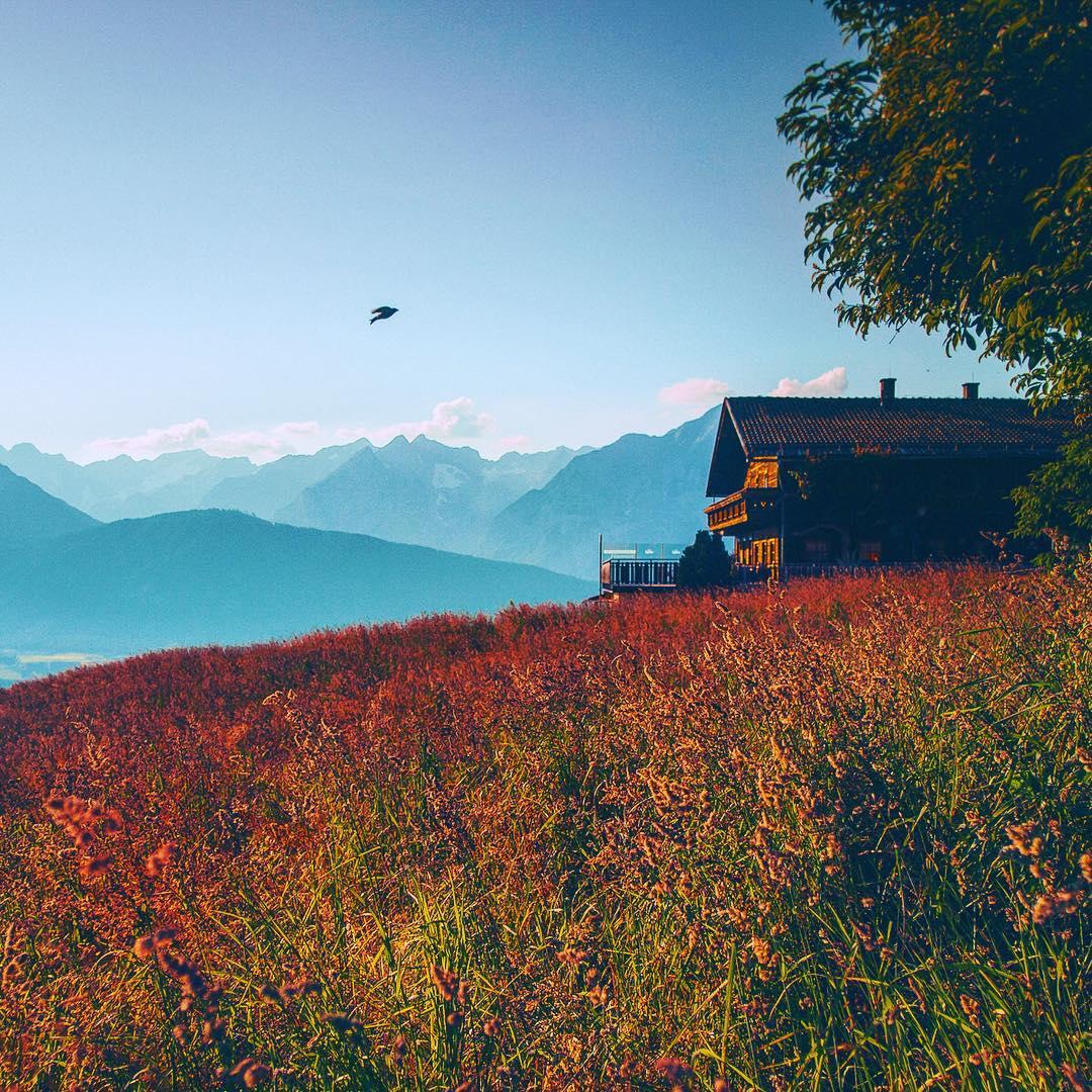 Prachtvolle Farben in Innsbruck