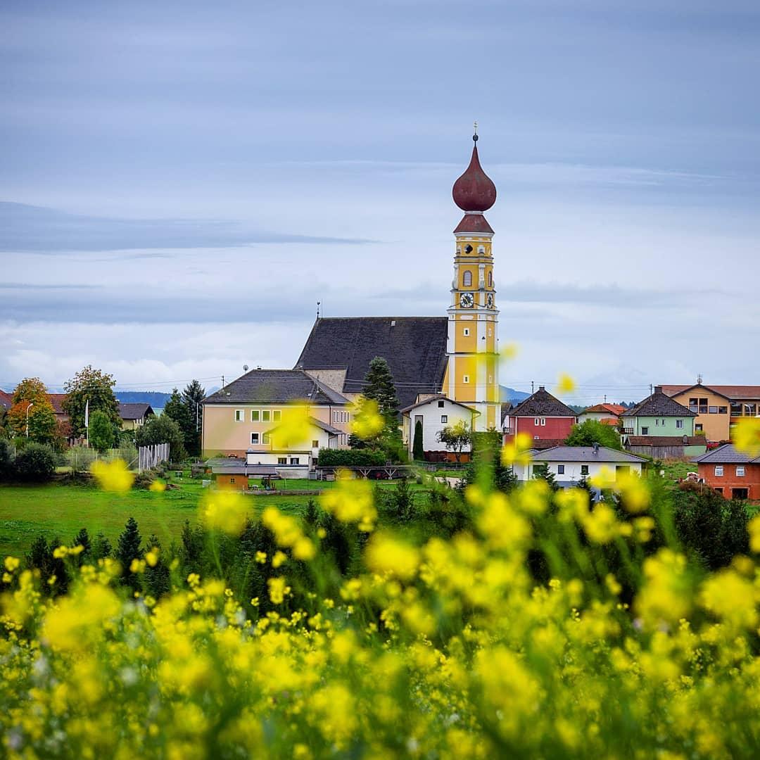 Church tower in Handenberg