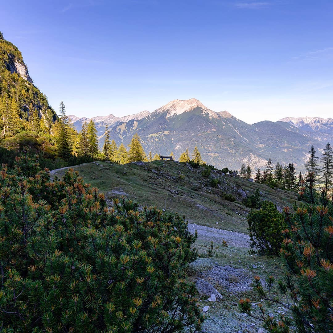 Alpine Landschaft in Tirol