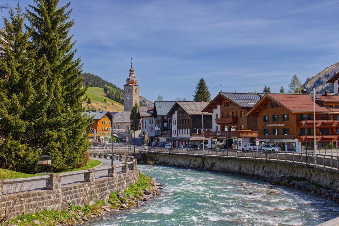 Sommerliches Ambiente in Lech