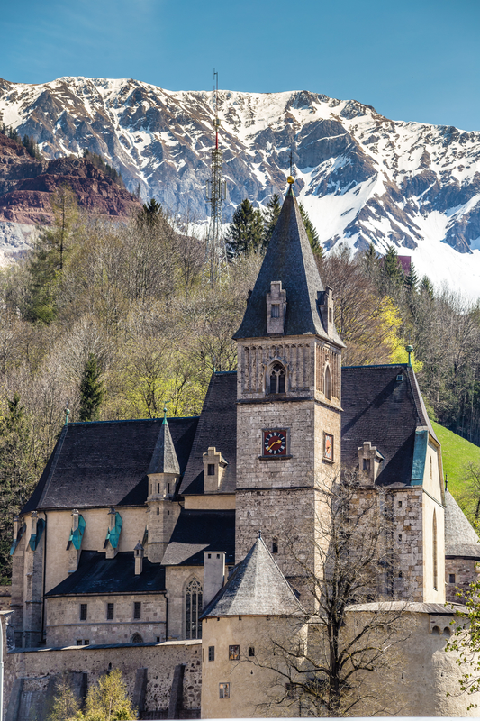 Similio Eisenerz Kirche