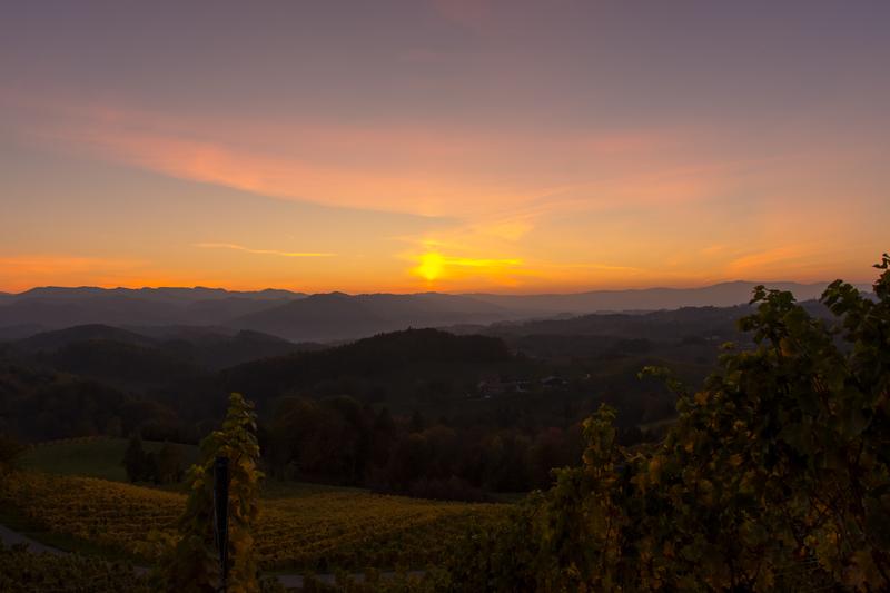 Similio Gamlitz Sonnenuntergang