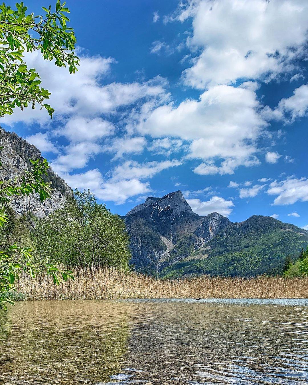 Весна на озере Леопольдштейн