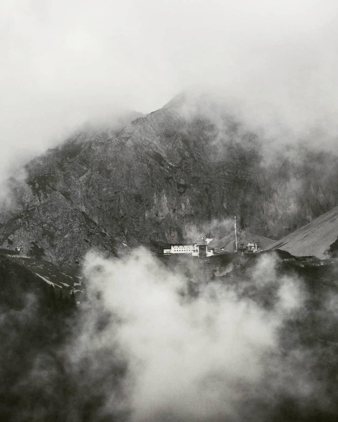 Nebellandschaft rund um Innsbruck
