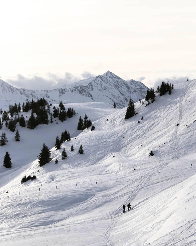 Skigebiet und Alpinlandschaft bei Resterhöhe
