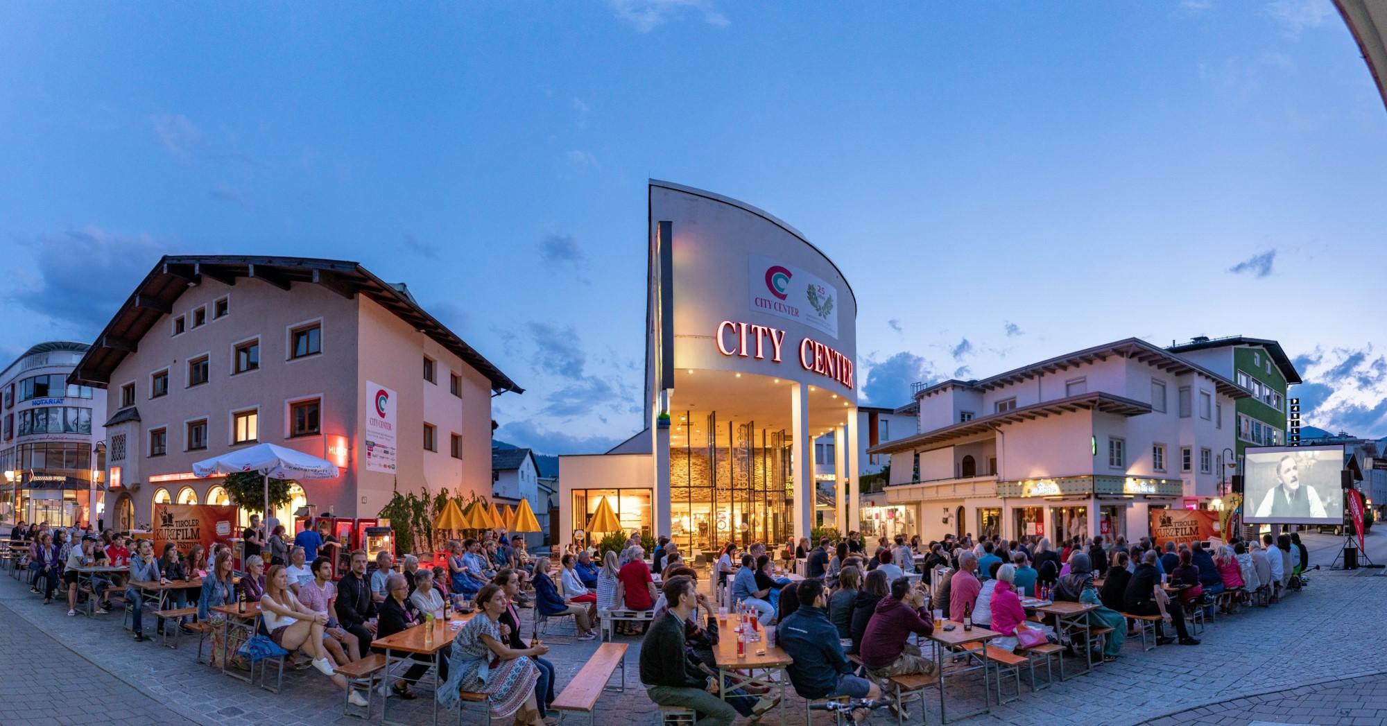 Open-Air-Kino Veranstaltung in Wörgl