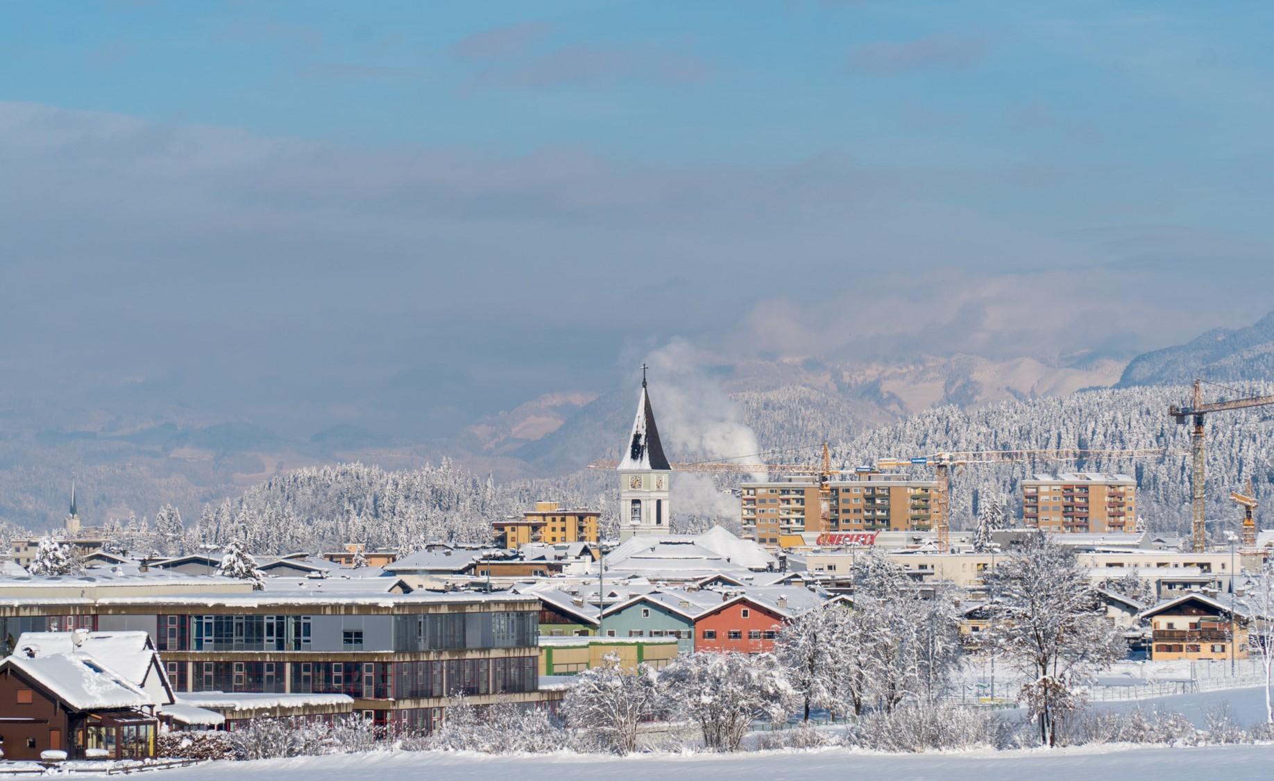 Traumhafte Winterlandschaft in Wörgl