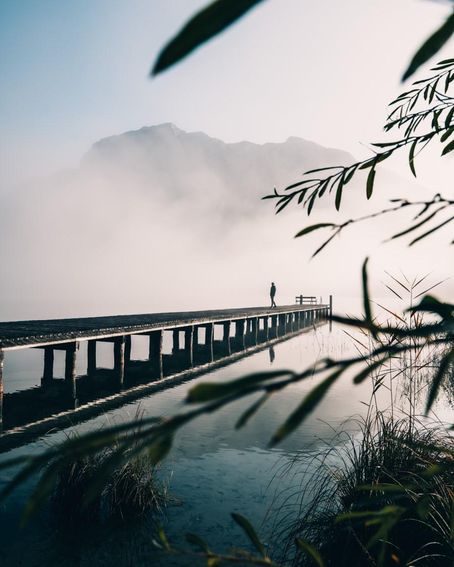 Steg am Altausseer See