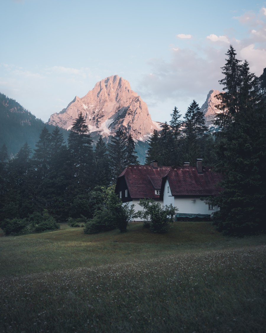 Landschaft in the dead mountains