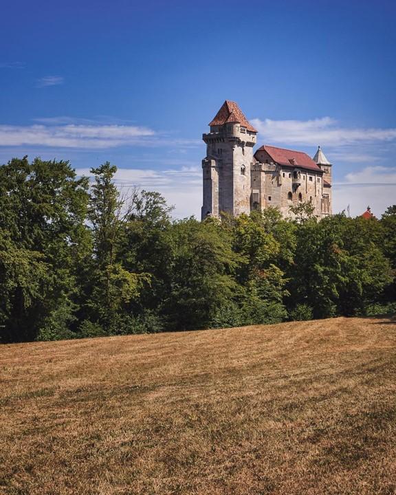 Liechtenstein castle in the district of Moedling