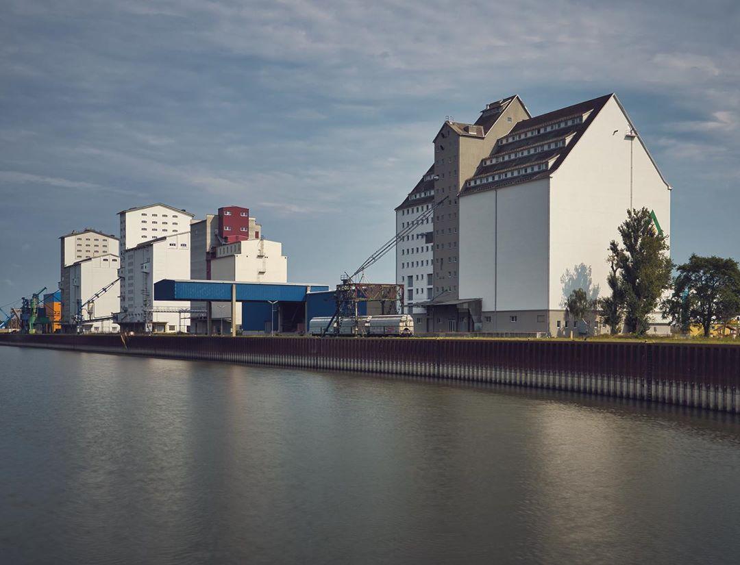 Hafen Albern in Simmering