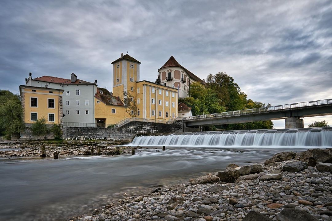 River bank in Steyr