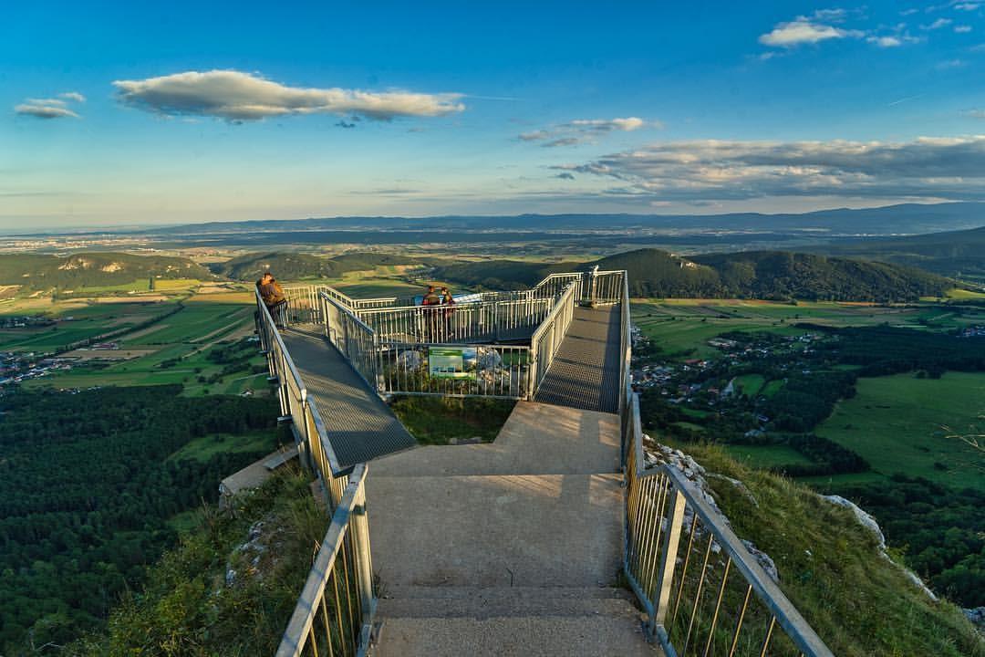 Skywalk Aussichtsplattform im Naturpark Hohe Wand