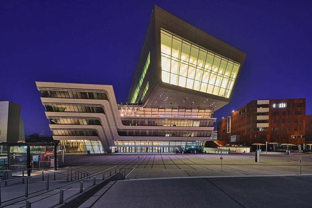 Campus of the economic university by Zaha Hadid