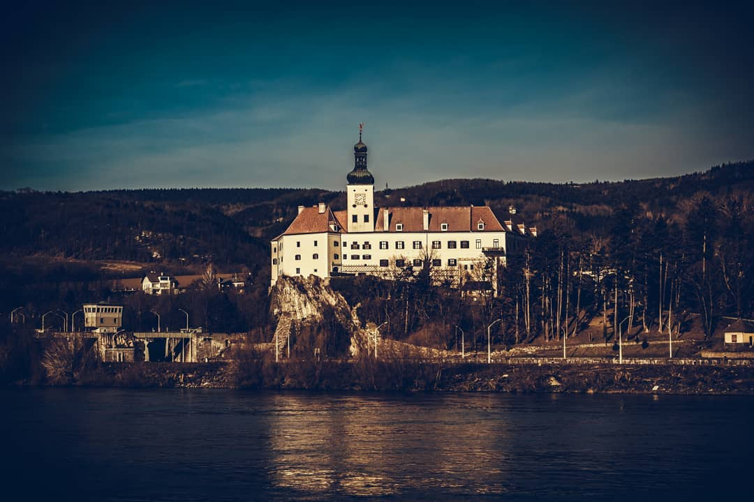 Castle Persenbeug on the Danube