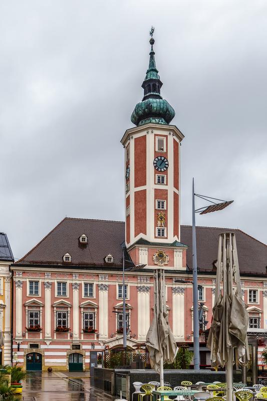 Similio St-Polten Hauptplatz