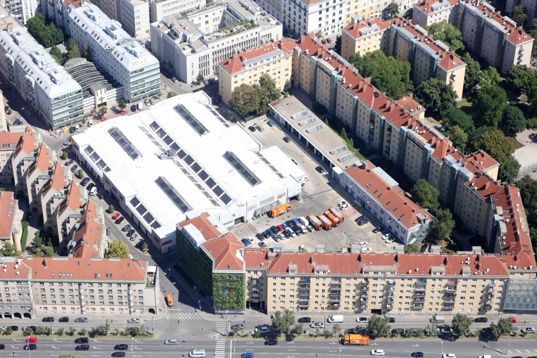 Zentrale der MA48 in Margareten