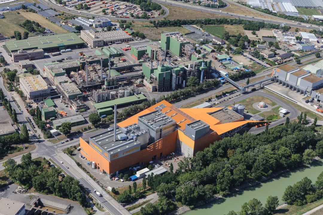 Müllverbrennungsanlage Pfaffenau in Simmering