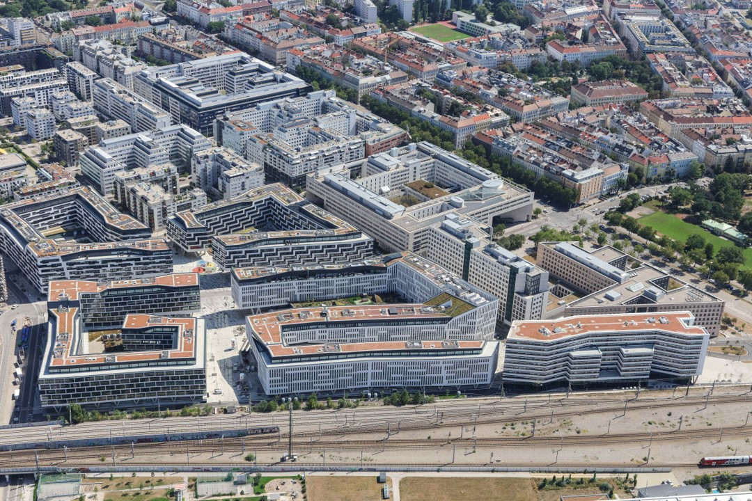 Nordbahnhofgelände in der Leopoldstadt