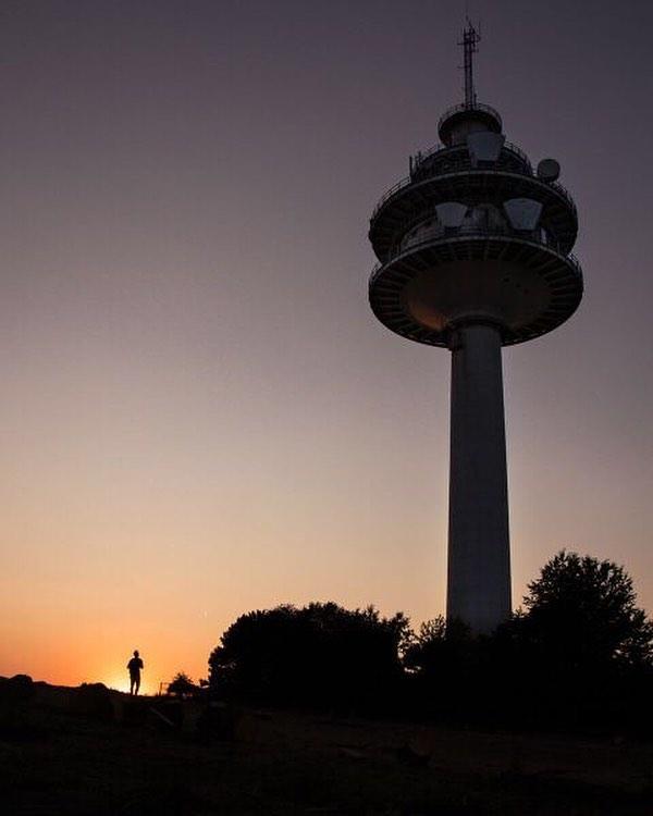 Fernsehturm in der Abendsonne