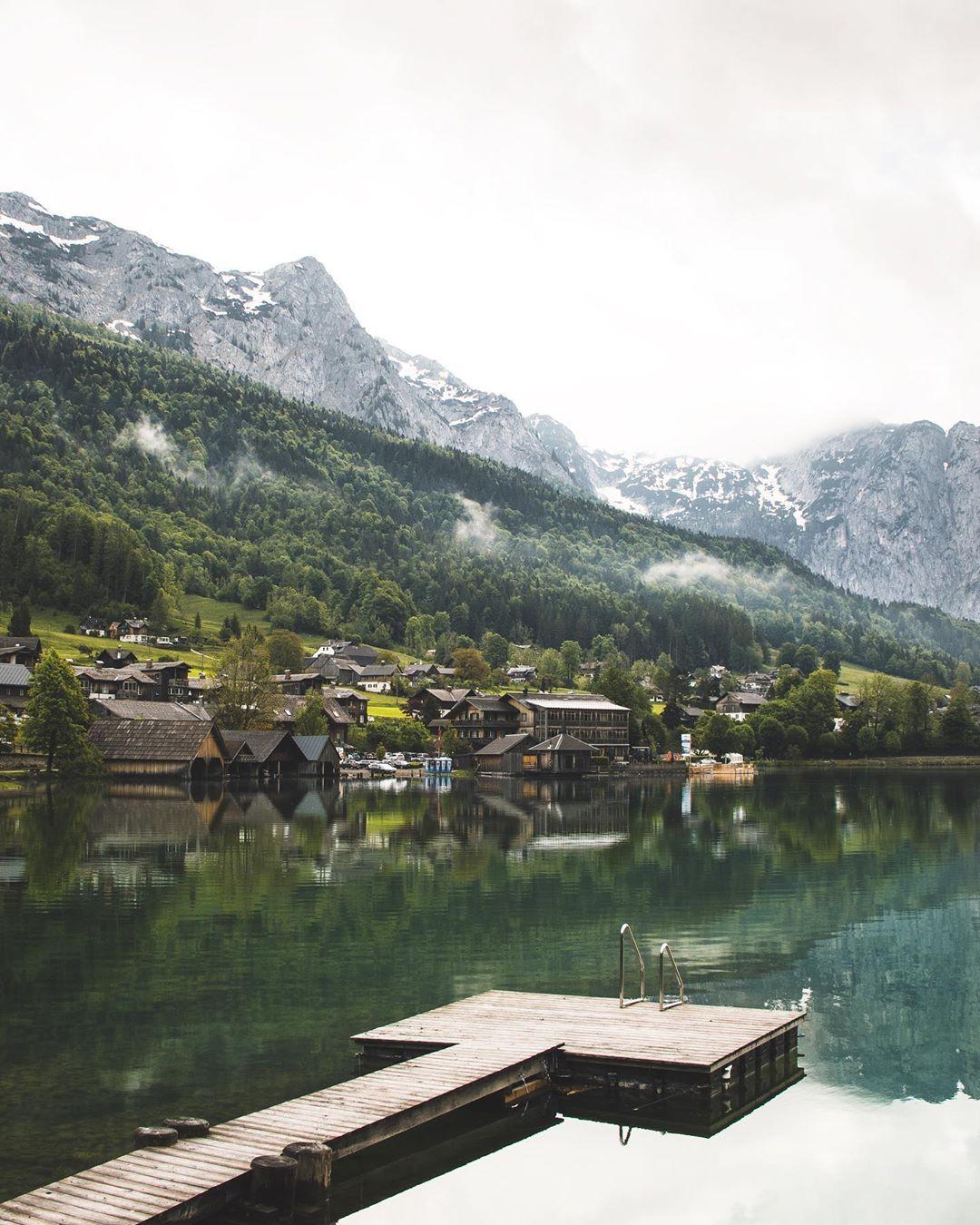 Landscape at Grundlsee
