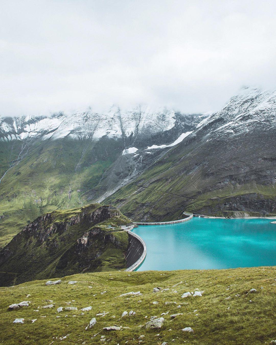 Bergpanorama bei den Hochgebirgsstauseen