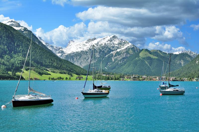 Lake Achensee in Tyrol