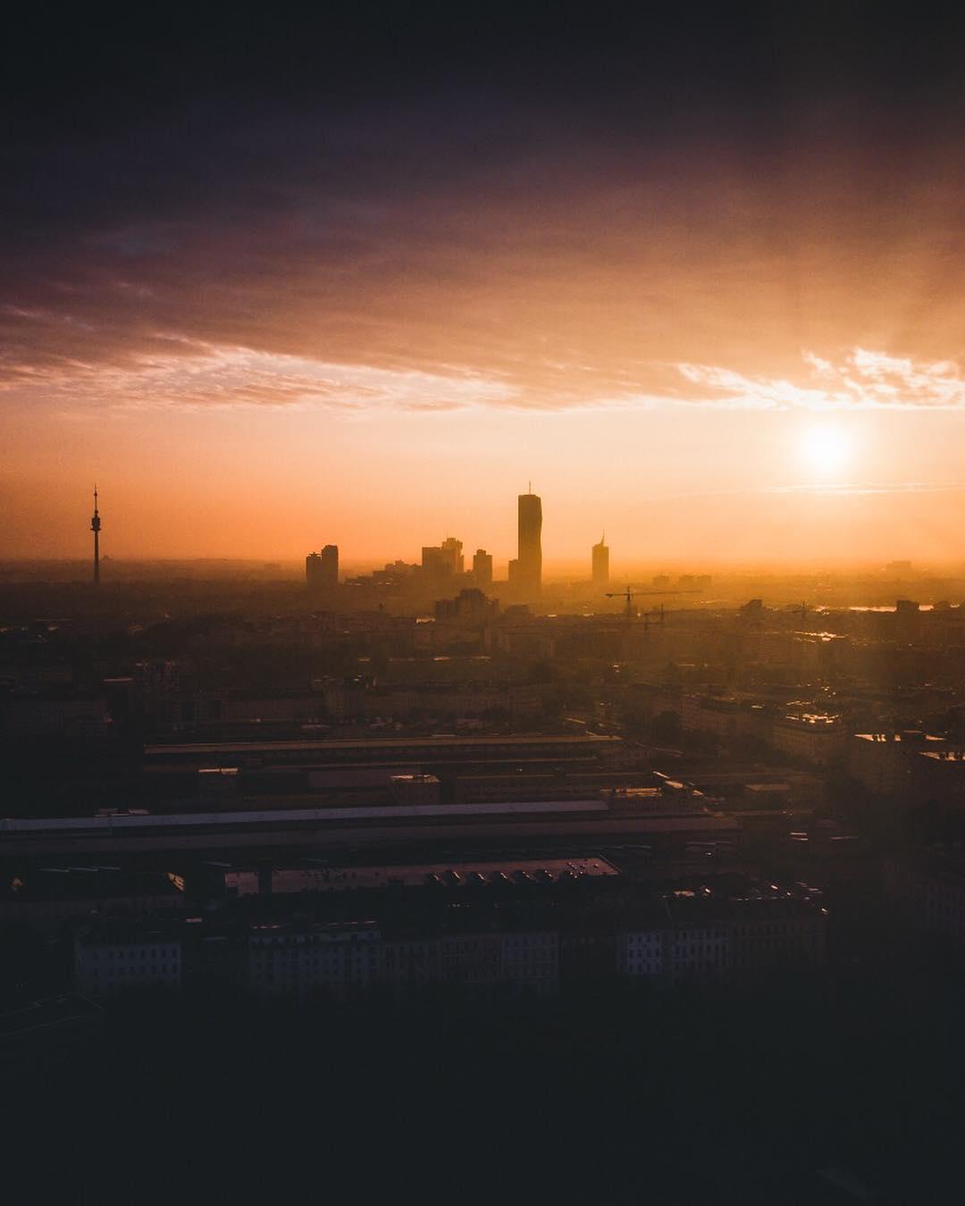 Panorama bei strahlendem Sonnenschein